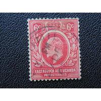 Британская Восточная Африка и Уганда 1907 г.