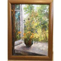 "Картина ""Утро. Вид из окна"". А. Гайлевич"