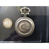 Карманные кварцевые часы с турецкой символикой , коллекция