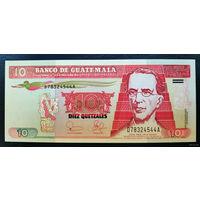 "РАСПРОДАЖА С 1 РУБЛЯ!!! Гватемала 10 кетцаль 2003 год UNC ""Бумага"""