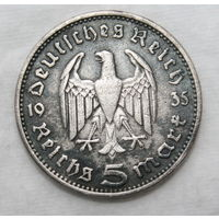 5 рейхсмарок 1935