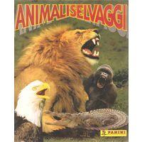 Наклейки для альбома Дикие животные 1995