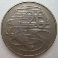 Австралия 20 центов 1980 г. (d)