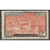 Гваделупа. Производство сахара. 1928г. Mi#97.
