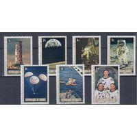 [937] Гвинея 1979. Космос США. Гашеная серия.