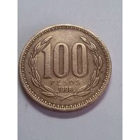 Чили 100 песо 1998