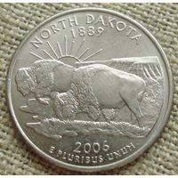 25 центов 2006 США - Северная Дакота