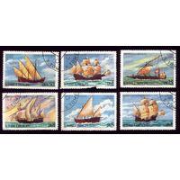 6 марок 1979 год Сан-Томе и Принсипи Флот 598-603