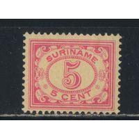 NL Суринам 1913 Номинал Стандарт #82*