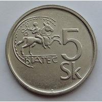 Словакия 5 крон. 1994