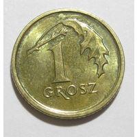 Польша 1 грош 2016
