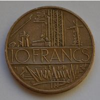 Франция, 10 франков 1984 г.