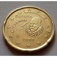 20 евроцентов, Испания 2000 г.