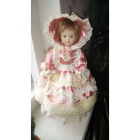 Настольная лампа-кукла