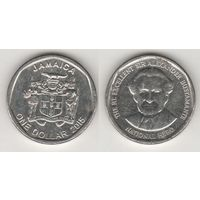 Ямайка km189 1 доллар 2015 год (al)(f15)