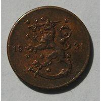 Финляндия, 1 Пенни 1921 (15)