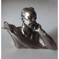 Бюст силумин Чайковского СССР  1966, автор