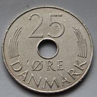 Дания, 25 эре 1985 г