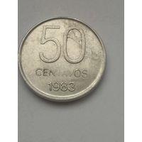 Аргентина 50 сентаво 1983