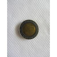 500 лир 1990R Италия КМ# 111 бронза