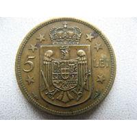 Румыния 5 лей 1930 г.