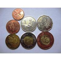 Комплект монет о-ва Андаман и Никабар