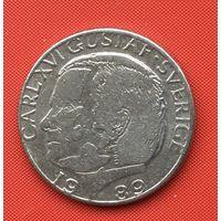 74-33 Швеция, 1 крона 1989 г.