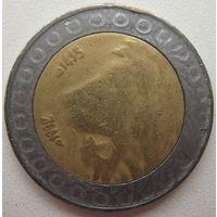 Алжир 20 динаров 1992 г.