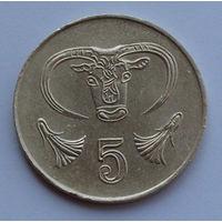 Кипр 5 центов. 2001