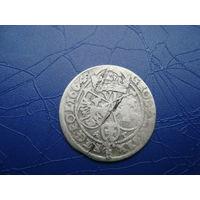6 грошей (шостак) 1664 (3)         (2830)