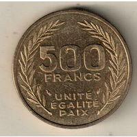 Джибути 500 франк 1991