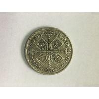 Великобритания 1 флорин 1929 Георг V