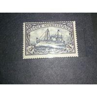 Распродажа!!! 1901 колонии Германии Юго-западная Африка. Mi.22. MNH(**)