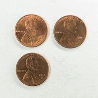 1 цент США 2011 D. Поштучно