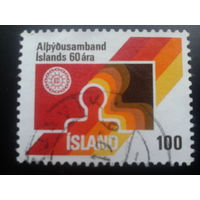 Исландия 1976 эмблема