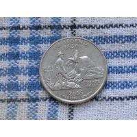 25 центов 2005 D Калифорния