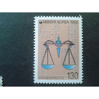 Корея Южная 1995 Весы, юстиция
