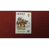 Джерси 1981г. Рождественские марки