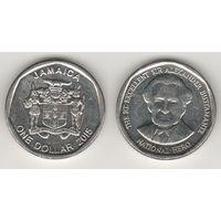 Ямайка km189 1 доллар 2015 год (al)(f16)