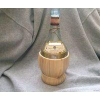 Бутыль (бутылка) винная в оплётке, из Египта