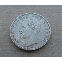 Бавария (Герм.империя), 5 марок 1902 г., серебро, король Отто I (1886-1913)