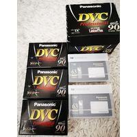 MiniDV кассеты (5шт одним лотом)