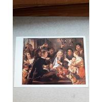 Открытка Голландская живопись  Я Иорданс