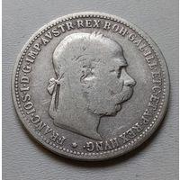 Австрия 1 крона 1893 г.