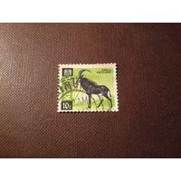 Кения 1966 г.Чёрная антилопа.