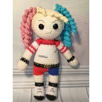 Игрушка кукла амигуруми Харли Квинн