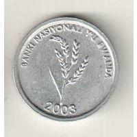 Руанда 1 франк 2003