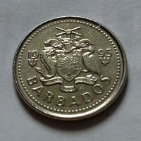 10 центов, Барбадос 1995 г.