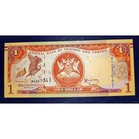 РАСПРОДАЖА С 1 РУБЛЯ!!! Тринидад и Тобаго 1 доллар 2006 год UNC