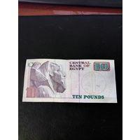 10 египетских фунтов образца 1979 года